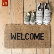 McDonalds welcomes you over their Threshold Offer
