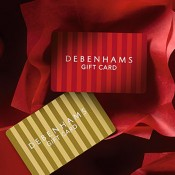 Gifts cards at Debenhams Offer