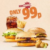 Burger King are sovereign savers Offer