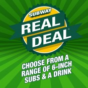 Subway Real Deal Offer Offer