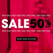 It's sale time at Jane Norman Offer