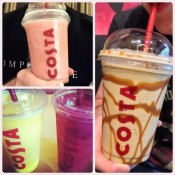 Beat the heat at Costa  Offer