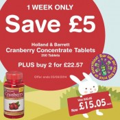 Holland and Barrett offers Offer