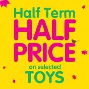 Half term half price sale at ELC Offer